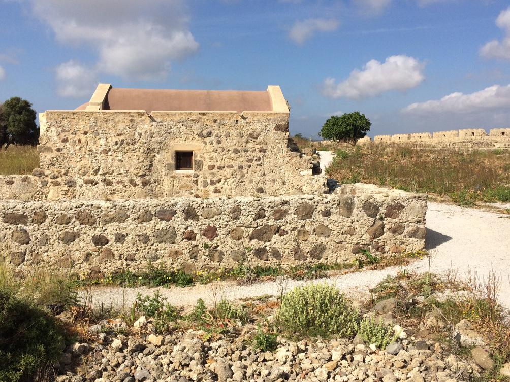 Kapelle im Antimachia Kastell