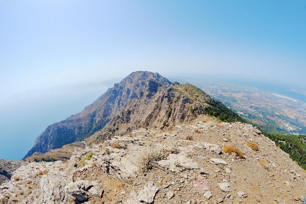 Der Dikeos auf Kos ist der größte Berg der Insel und 846 m hoch