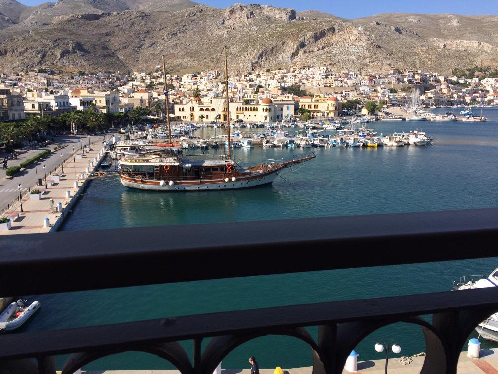 Hafen von Kalymnos