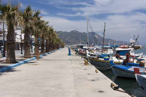 Hafenpromenade in Kardamena
