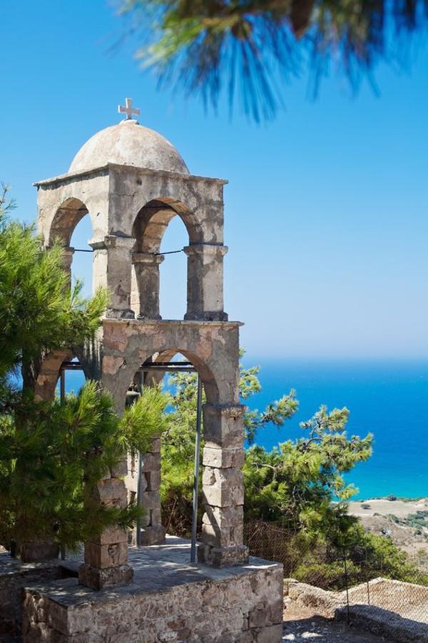 Glockenturm beim Kloster Agios Ioannis