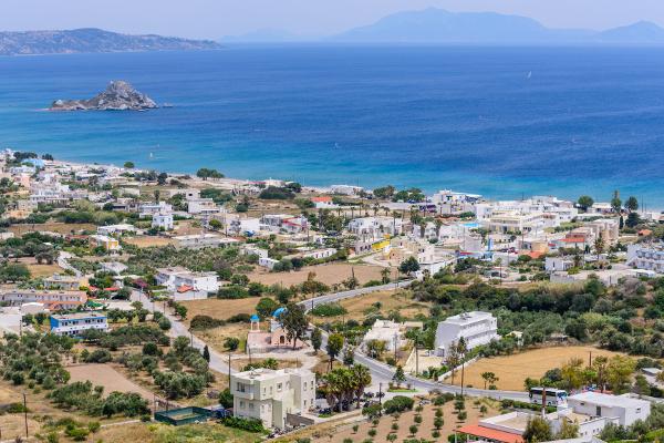 Küstenebene an der Bucht von Kefalos