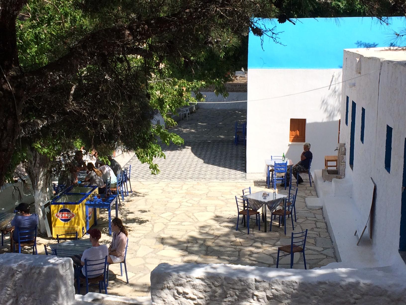 Café im Kloster Agios Ioannis