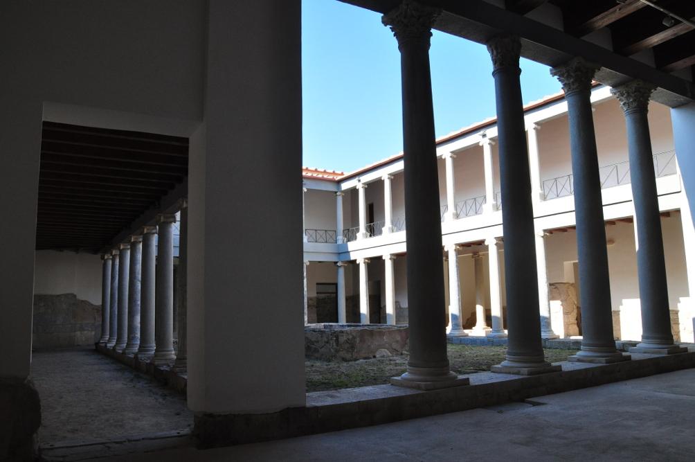 Innenhof der Casa Romana in Kos-Stadt