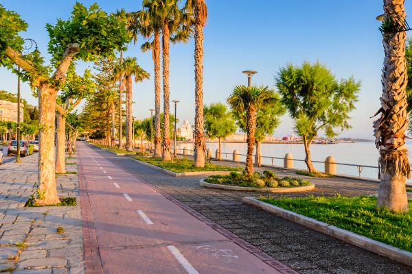 Fahrradwege in Kos-Stadt