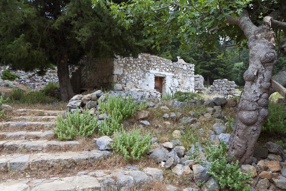 Das alte Geisterdorf Paleo Pyli