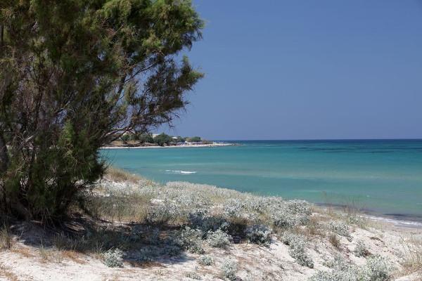 Ursürnglicher Strand am Agios Ioannis Beach