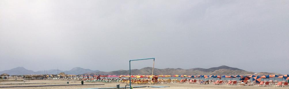 Tigaki Beach Strand beim Ortszentrum von Tigaki