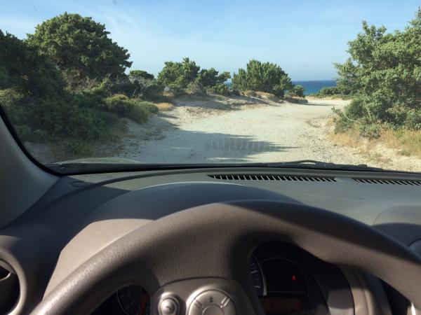 Auf dem Weg zum Tripiti Beach auf Kos