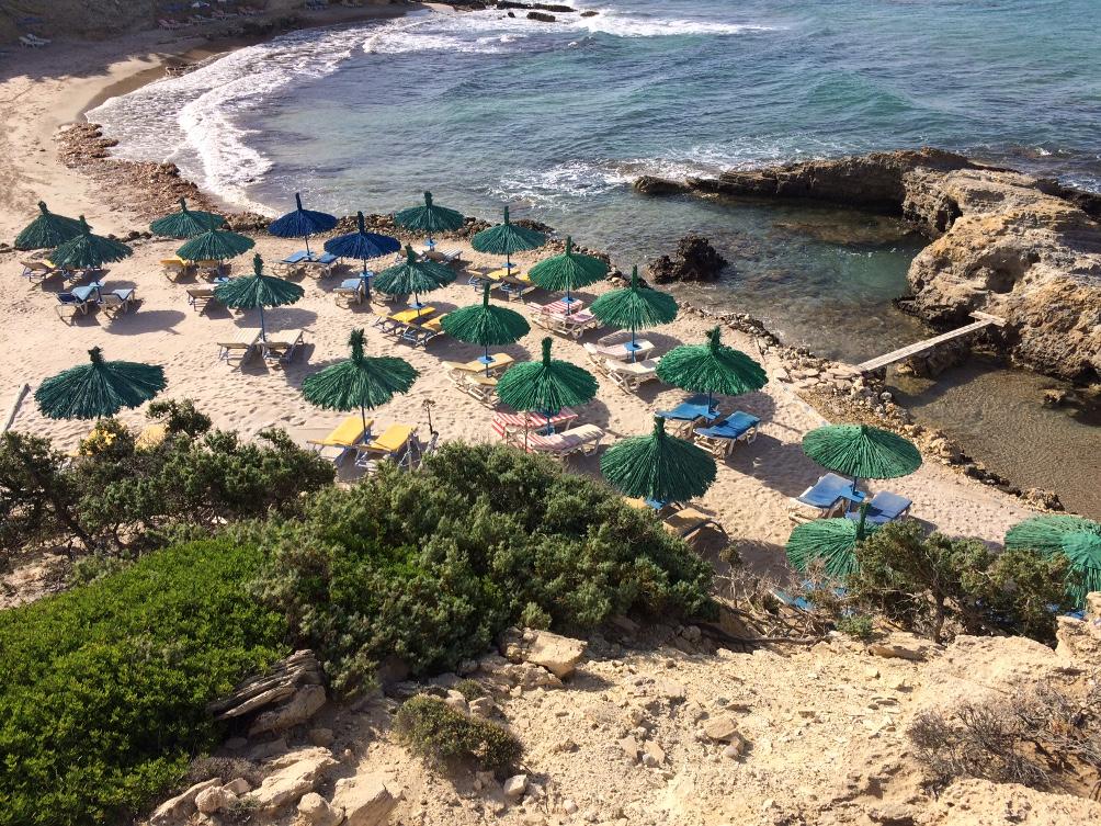 Tripiti Beach Strand und Bucht auf Kos
